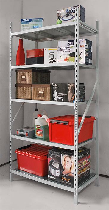 Металлические стеллажи для дома, в гараж, в кладовую, на бал.